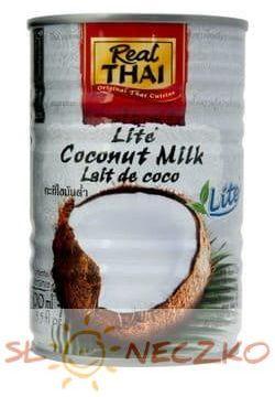 Mleczko kokosowe o obniżonej zawartości tłuszczu 400 ml Real Thai