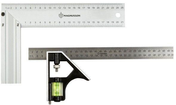 Zestaw kątowników Magnusson 300 mm 250 mm 2 szt.