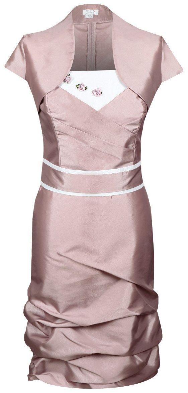 Sukienka FSU154 ŁOSOSIOWY CIEMNY