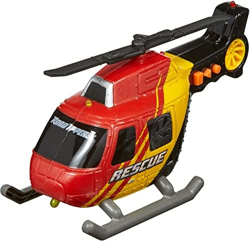 NIKKO Road Rippers Auto Rush & Rescue - helikopter - 13 cm
