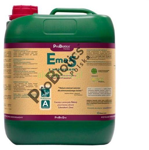 PROBIOTICS Ema5 z wrotyczem na pędraki do gleby i roślin 5 litrów