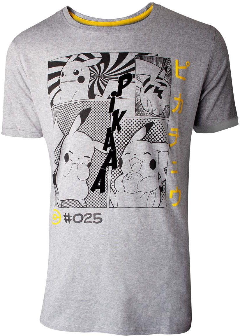 T-shirt Pikachu Manga Profile