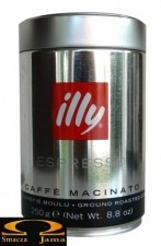 Kawa mielona Illy espresso caffe macinato DARK 250g