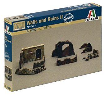 Italeri 510006090 - 1:72 mury i ruinen II