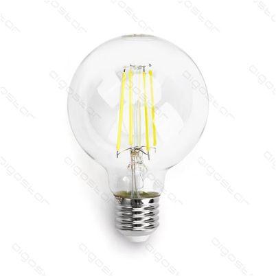 Żarówka LED kulka Filament E27 4W G80 zimna 6500K