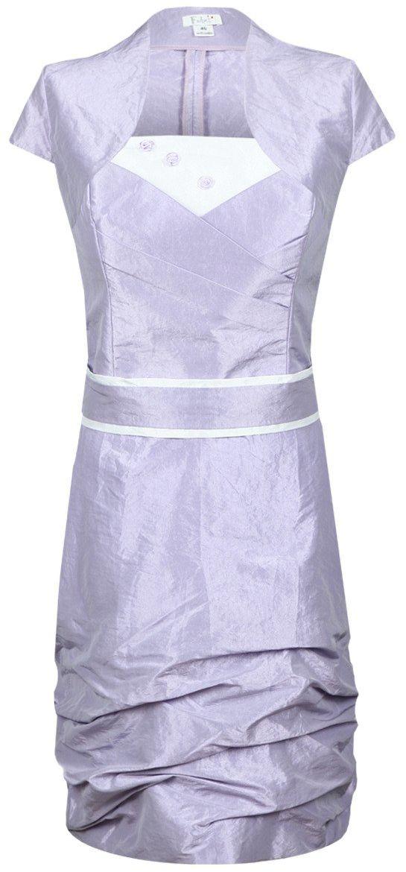 Sukienka FSU154 FIOLETOWY