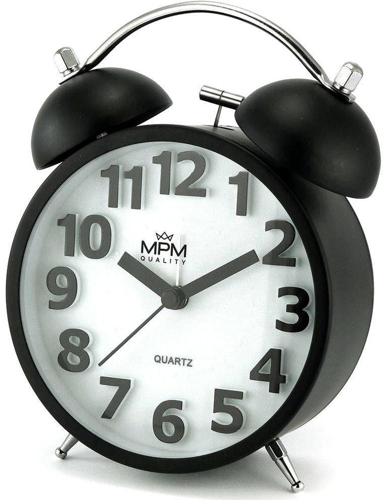 Budzik MPM C01.4056.90 Bell Alarm Retro