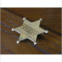 KLASYCZNA ZŁOTA ODZNAKA SHERIFF