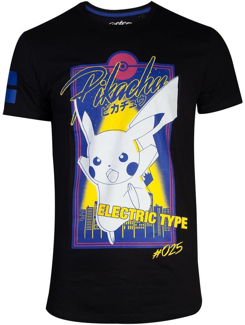 T-shirt Pokemon City Pikachu