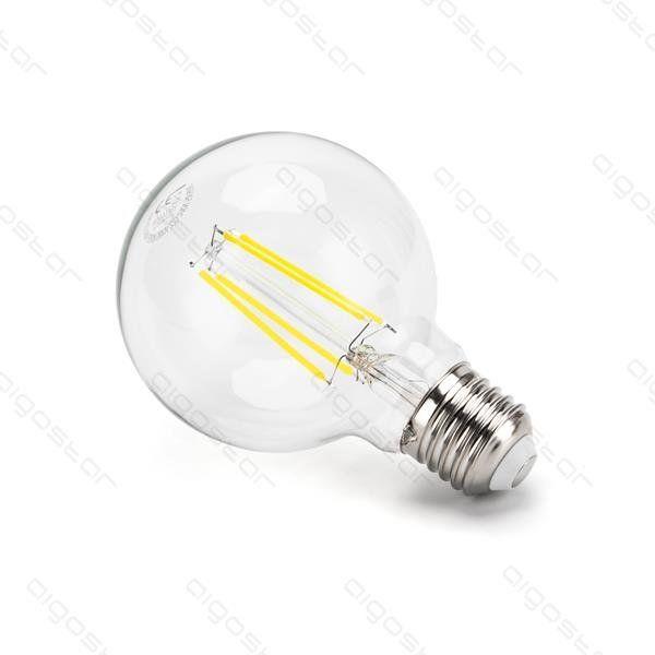 Żarówka LED kulka Filament E27 8W G80 zimna 6500K