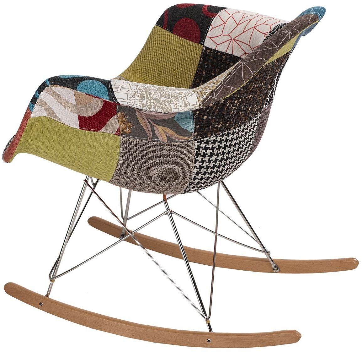 D2 Krzesło P018 RAR patchwork kolorowy