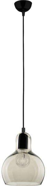 Nowoczesna lampa wisząca czarny/grafitowy MANGO 602