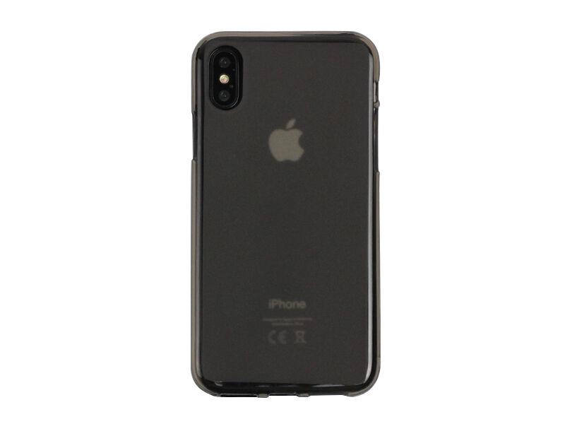 Apple iPhone X - etui na telefon FLEXmat Case - czarny
