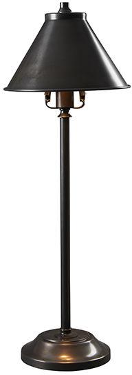 Lampa stołowa Provence Stick PV/SL OB Elstead Lighting klasyczna oprawa w kolorze brązu