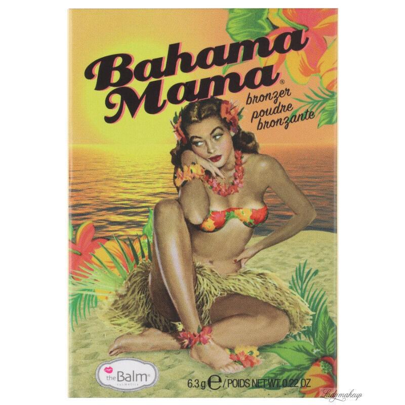 THE BALM - BAHAMA MAMA - Puder brązujący do twarzy - (BEZ KARTONIKA)