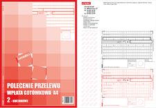 Druk Polecenie Przelew PP A4 2 odc