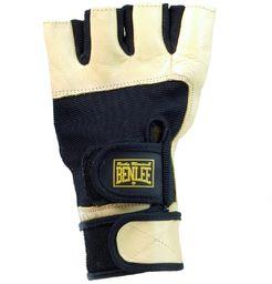 BENLEE Rocky Marciano rękawiczki fitness Gloves, czarne/żółte, rozmiar: XXL
