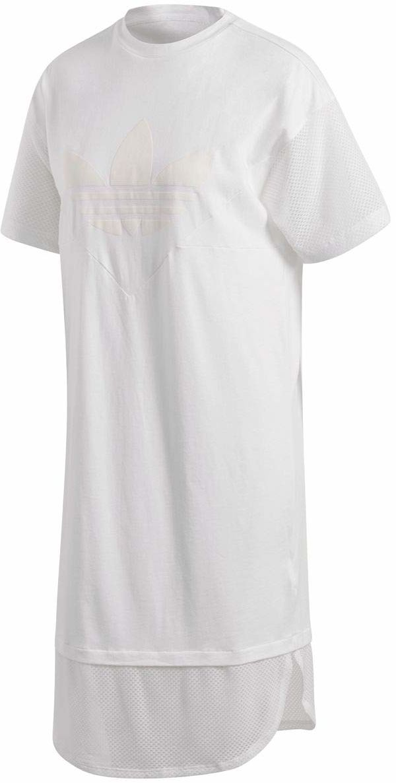 adidas Clrdo T-shirt damski biały biały 34