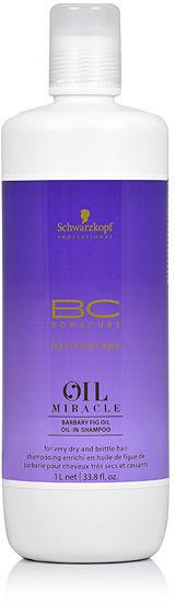 Schwarzkopf BC Oil Miracle Barbary Fig Oil Szampon odbudowujący 1000 ml