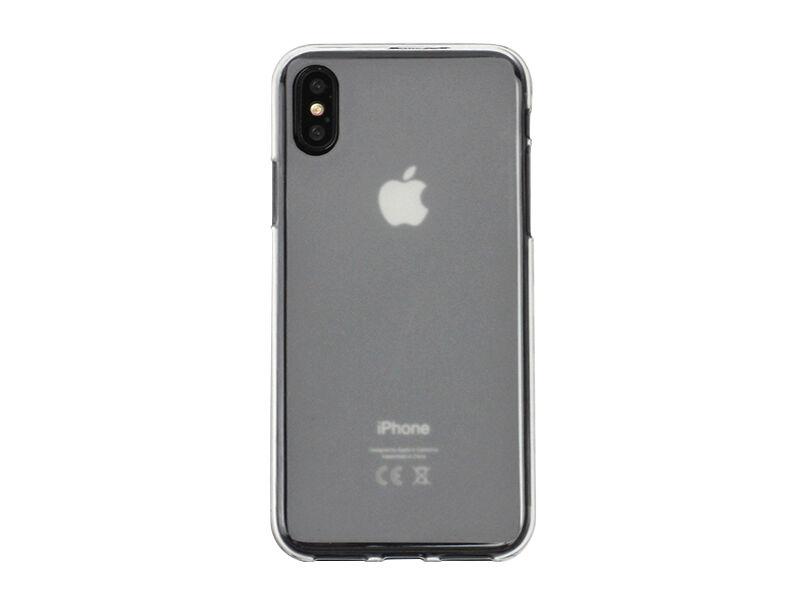 Apple iPhone X - etui na telefon FLEXmat Case - biały