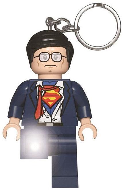LEGO DC Super Heroes - Latarka LED i brelok 2w1 Clark Kent KE116