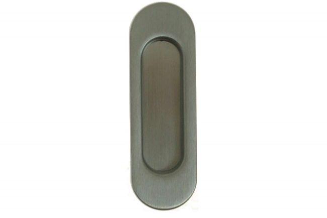 Uchwyt podłużny do drzwi przesuwnych wpuszczany bez otworu chrom matowy