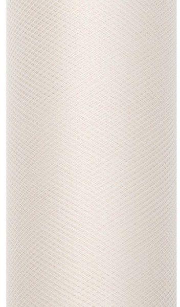 Tiul dekoracyjny kremowy 80cm rolka 9m TIU80-079 - 80CM KREMOWY