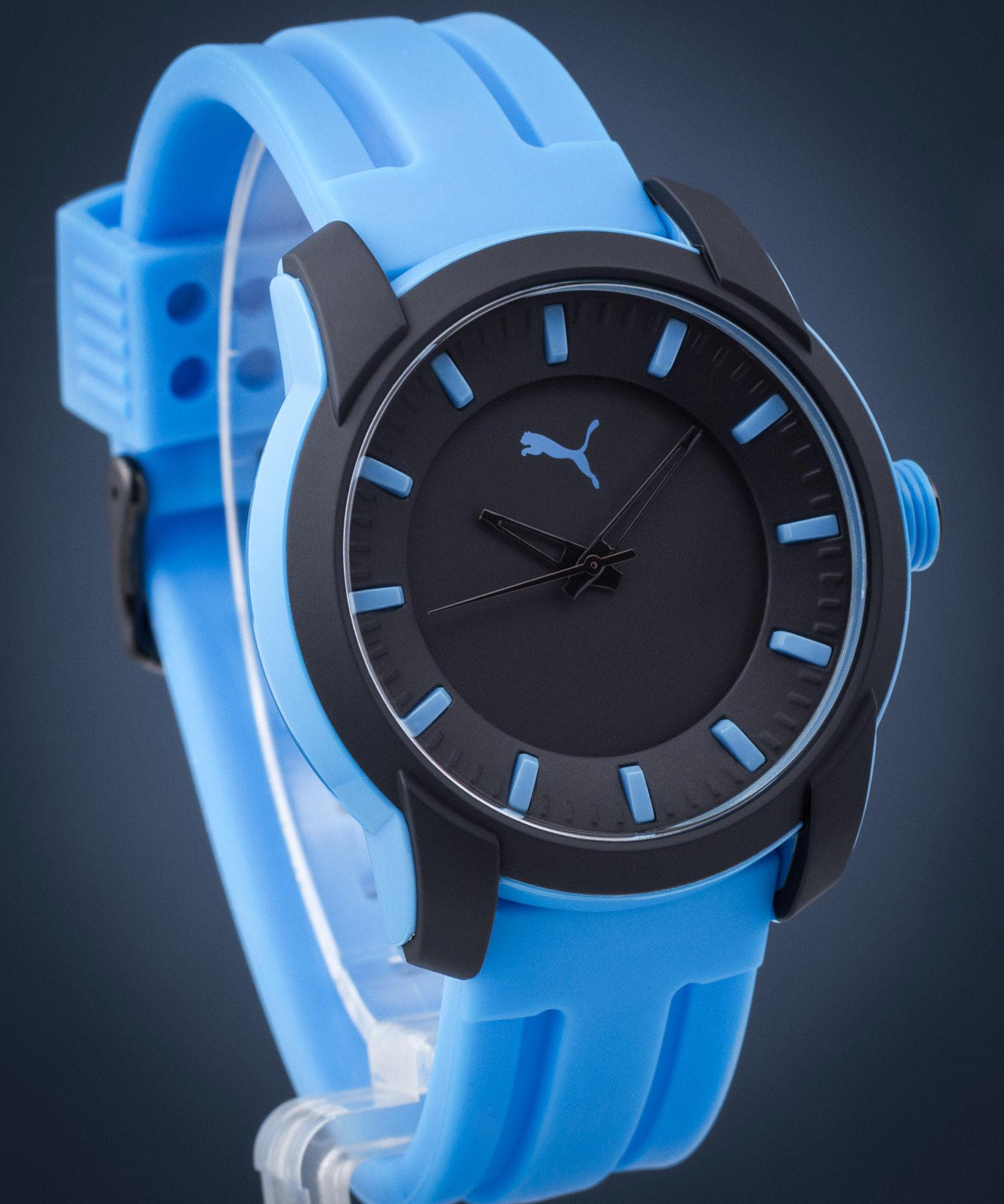 Zegarek męski Puma Blue Silicone