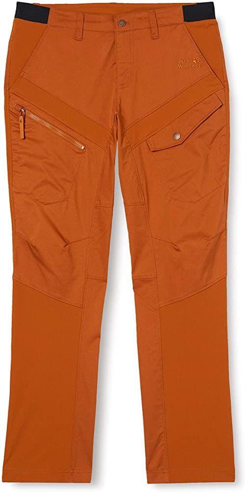 Jack Wolfskin Spodnie męskie Dover Road Cargo Pants M brązowy miedź XL