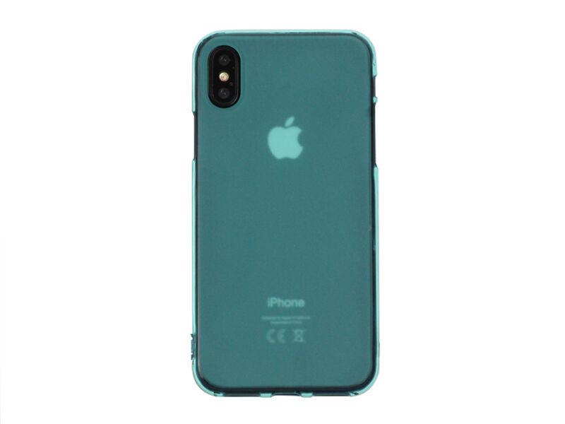 Apple iPhone X - etui na telefon FLEXmat Case - niebieski