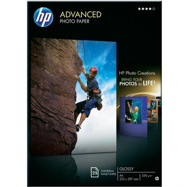 Papier HP Advanced Photo, błyszczący, 250g, A4 (25 ark) (Q5456A)