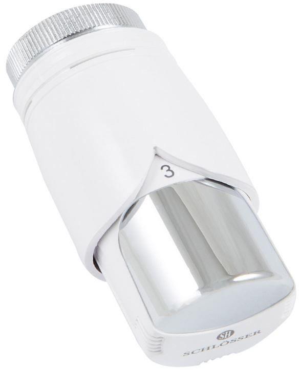 Głowica termostatyczna Biała-Chrom Schlosser