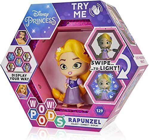 WOW! PODS Disney księżniczka Roszpunka kolekcjonerska świecące figurki