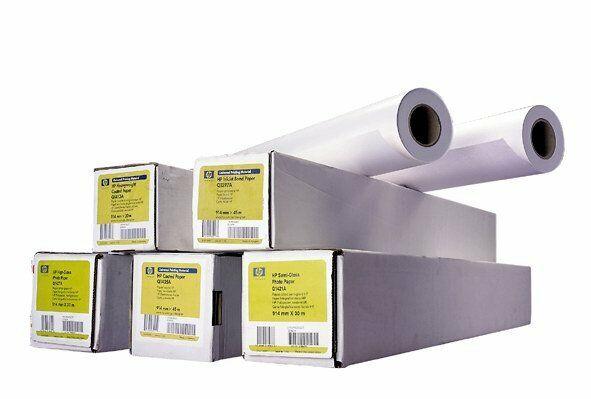 Papier HP Heavyweight Paper, 610mm, 30 m, 120 g/m2, Q1412B