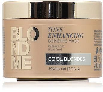 Schwarzkopf BlondMe Tone Enhancing Cool Blondes Maska do zimnych odcieni blondu 200 ml