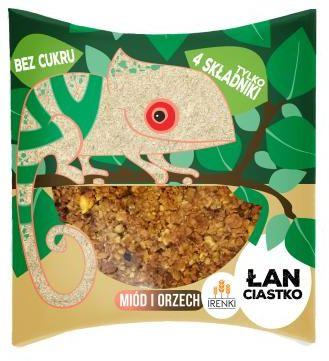 Ciastko ŁAN miodowo-orzechowe bez cukru 40 g Irenki