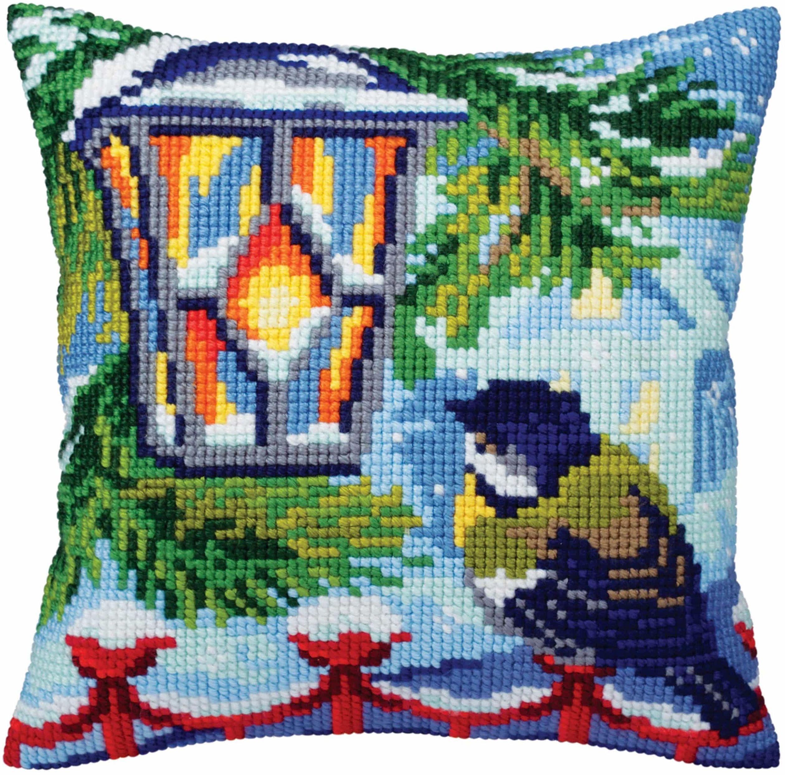 Kolekcja d''Art zestaw poduszek / przed Boże Narodzenie/40 x 40, Multi, 40 x 40 cm