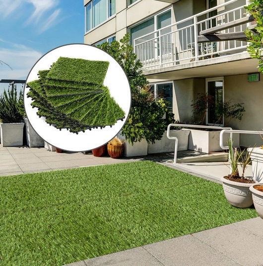 Sztuczny trawnik chodnik wykładzina zielona