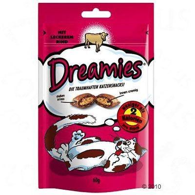 Dreamies z Wyśmienitym Łososiem 60g