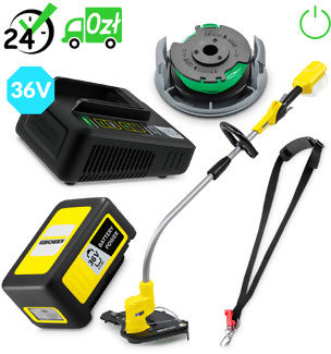 LTR 36-33 Battery podkaszarka akumulatorowa (7000obr/min, 28cm), Karcher START EDITION+ AUTORYZOWANY PARTNER KARCHER KARTA 0ZŁ POBRANIE 0ZŁ ZWROT 30DNI RATY GWARANCJA D2D WEJDŹ I KUP NAJTANIEJ AUTORYZOWANY PARTNER KARCHER KARTA 0ZŁ POBRANIE 0ZŁ ZWROT 30DNI RATY GWARANCJA D2D WEJDŹ I KUP NAJTANIEJ