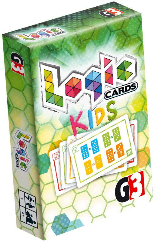 Gra Logic Cards - Kids (PL)