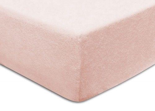 Prześcieradło Frotte Z Gumką 120x200 Blado Różowe Darymex