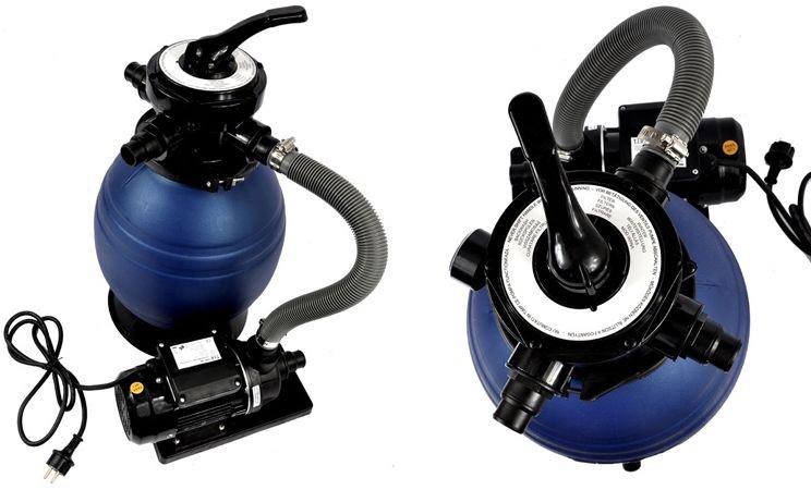 Filtr basenowy piaskowy pompa basenowa do wody 250W