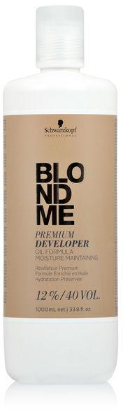 Schwarzkopf BlondMe Premium Developer 12% Oksydant 1000 ml