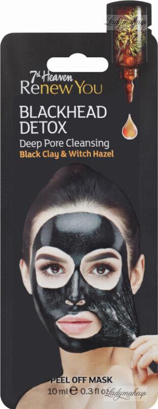 7th Heaven (Montagne Jeunesse) - Renew You - Blackhead Detox - Deep Pore Cleasing - Peel Off Mask - Oczyszczająca maseczka do twarzy - Peel Off
