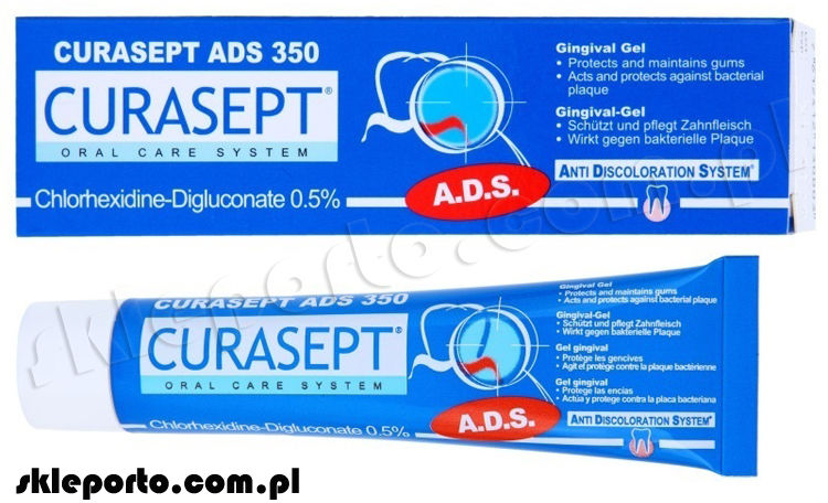 Curasept ADS 350 - paradontal żel 0,5% CHX