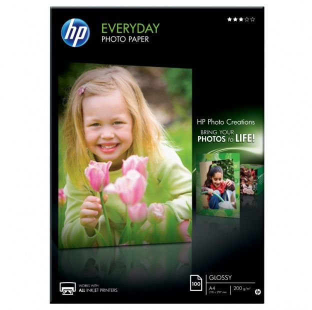 "Papier HP Q2510A ""Everyday Photo"" - A4, 200 g/m2, 100 arkuszy (Q2510A)"