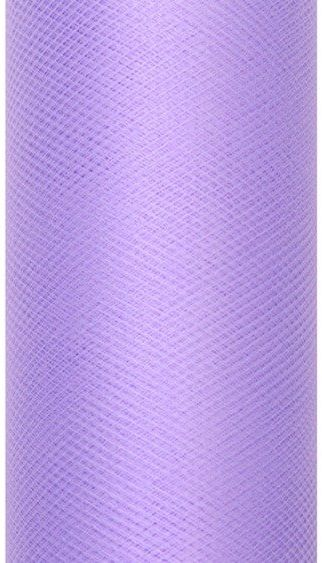Tiul dekoracyjny fioletowy 50cm x 9m 1 rolka TIU50-014