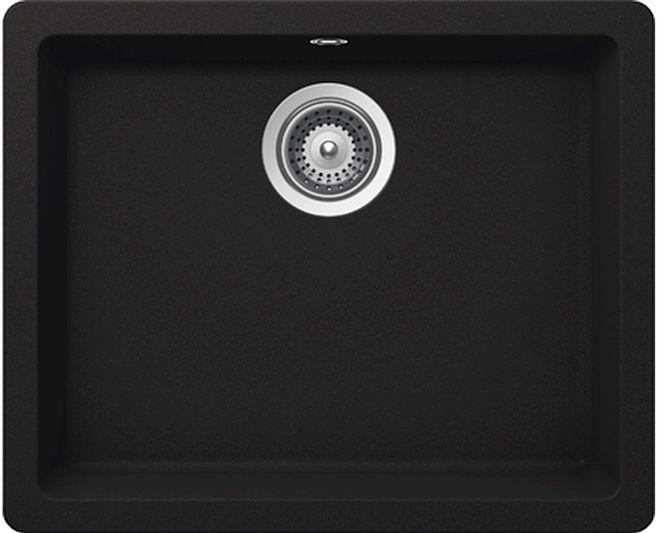 Schock Quadro N-100 L Onyx zlew CRISTALITE+ - Onyx