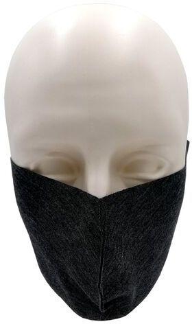 Maseczka ochronna na twarz z dzianiny szara